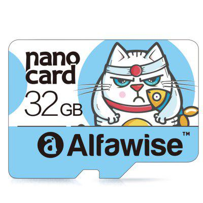 Alfawise 32GB Micro SD Class 10 UHS-1 Memory Card - LIGHT BLUE 32GB