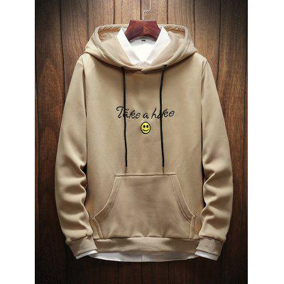 Autumn Men's Long Sleeve Sweater Loose Hoodie