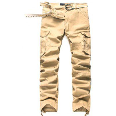Men's Trousers Trend Casual Overalls Loose Sweatpants