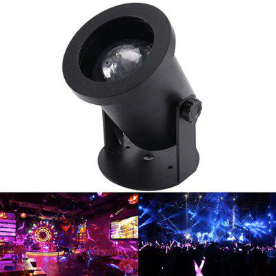 LED RGB Crystal Magic Ball Light Sound Control Stage Lighting Laser Spotlight