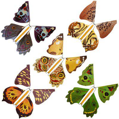 Metal Bracket Butterfly Flying Butterfly Magic Toy