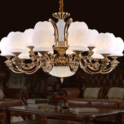 ZUNGE T001 Romantic 15-head LED Chandelier for Home Use