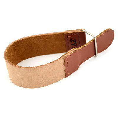 Men Shaving Vintage Razor Cloth Polishing Special Square Buckle Grinding Cloth Razor Cloth Sharpening Belt