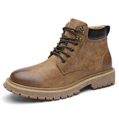 Men's Fashion High-top Martin Boots