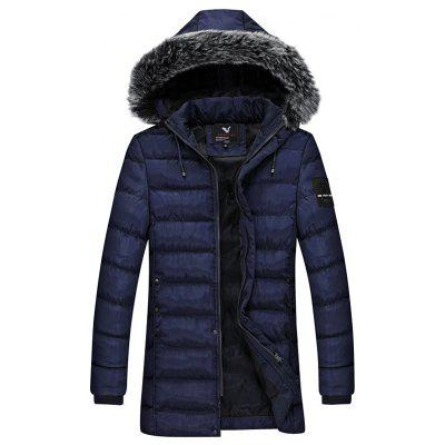 Winter Men Cotton Suit Youth Fashion Jacket
