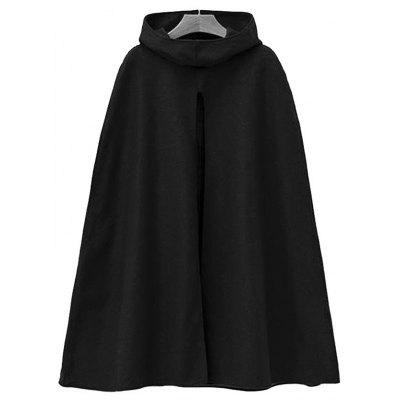 Cape Cardigan Lange Manteljacke Trenchcoat Outwear
