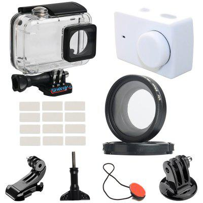 Sheingka 20 in 1 Kit Sports Camera Frame + Silicone Sleeve + UV Filter for YI 4K / Lite / 4K+ Action Camera