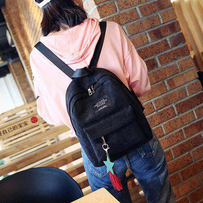 Women's Chic Backpack Fashion Leisure Student Bag