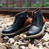 Medium Side Work Boot - BLACK