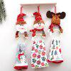 Christmas Decorations Clothes Napkin Circle Home Pendant Towel Ring - MULTI