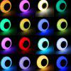 E27 Smart Bluetooth Music Bulb Led Colorful Speaker Wireless With Remote Control Audio Light - YELLOW