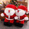 393 Christmas Cute Santa Plush Toy Doll ( Small Paragraph) - RED