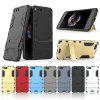 Armor All-inclusive Bracket Three In One Matte Shatter-resistant Protective Phone Case for Xiaomi Mi Note3 - SILVER