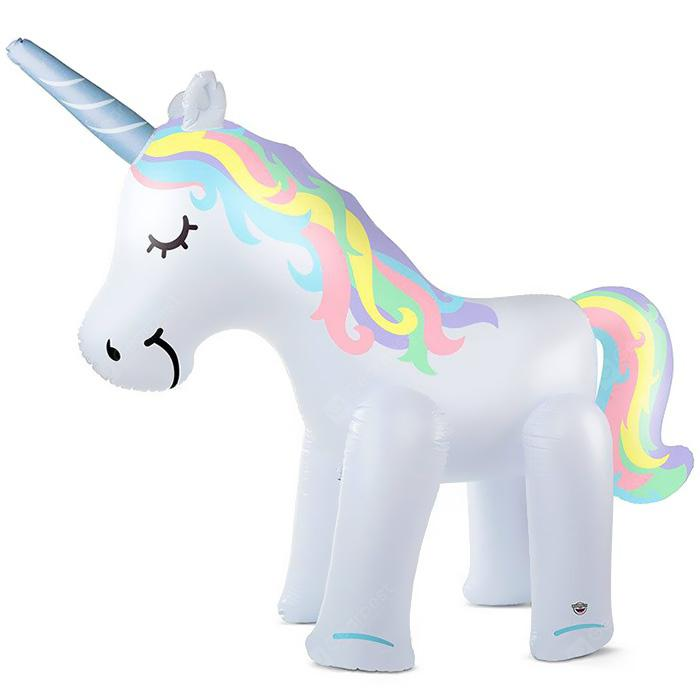 Inflatable Water Spray Unicorn Outdoor Toy
