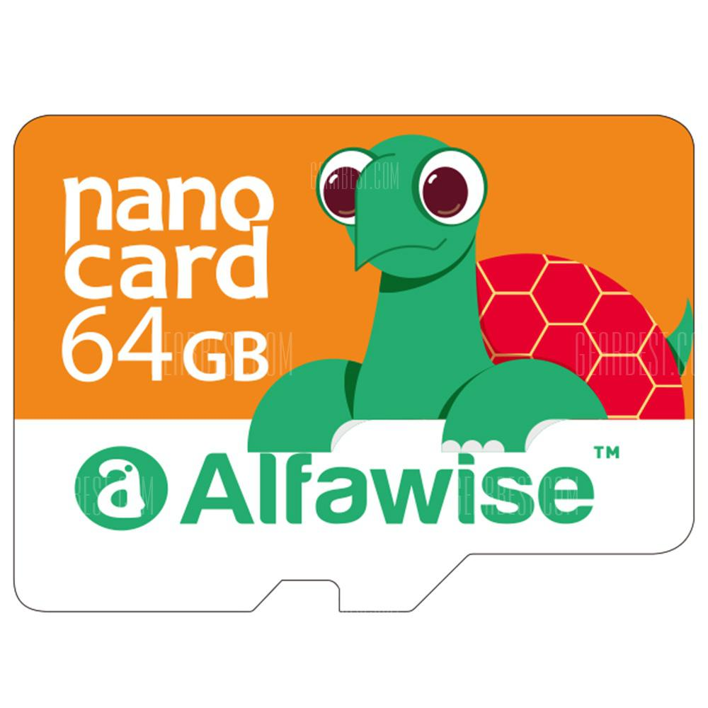 Alfawise 64GB UHS-1 High Speed Micro SD