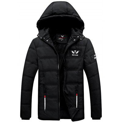 Cotton Men Winter Casual Padded Jacket Clothing