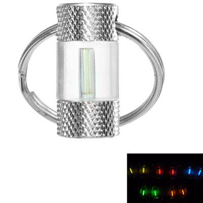 1.5x6mm Self-illumination 25 Years Gas Tube  Light  Key Ring Pendant β Lamp Reticulated Metal Section