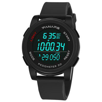 PANARS 8108 Male Outdoor Multifunction Dual Time Countdown Watch