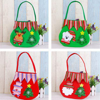 small GIFT BAG with Snowman TOTE BAG