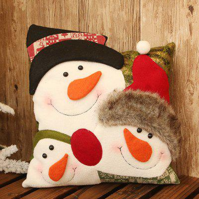 Christmas Snowman Pillow Cushion Decoration Christmas Child Gift