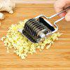 Stainless Steel Household Manual Noodle Machine Pasta Machine Multi-function Chopping Utensils Spice Crusher - SILVER