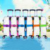 Password Lock Luggage Belts Suitcase Packing Strap - BLACK
