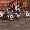 Metal Wrought Iron Motorcycle Model European Ornaments - BLACK