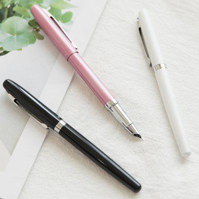 Simple Metal Pen Pen EF Dark Tip Pen Adult Hard Pen Calligraphy Pen Calligraphy Pen