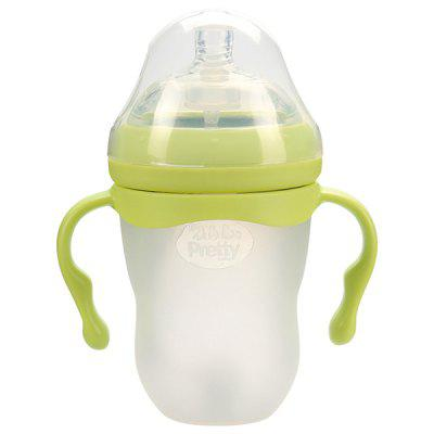 220ML Wide Mouth Baby Bottle with Hand