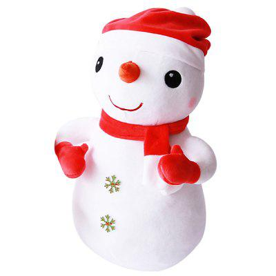396 Glass Particle Base Standing Doll for Decoration / Winter Hand Warming