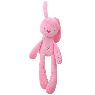Soft Smooth Bunny Baby Bunny Massage Beans Appease Doll for Babies