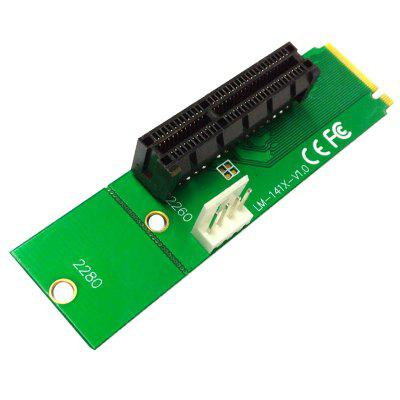 NGFF M.2 to PCI-E 4X Expansion Card