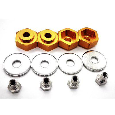HSP RC Car 1:10 12mm to 1:8 17mm Wheel Hexagon Connection 4 Pieces