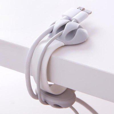 Multi-function Data Cable Organizer Desktop Data Cable Fixer Hub Data Cable Clip