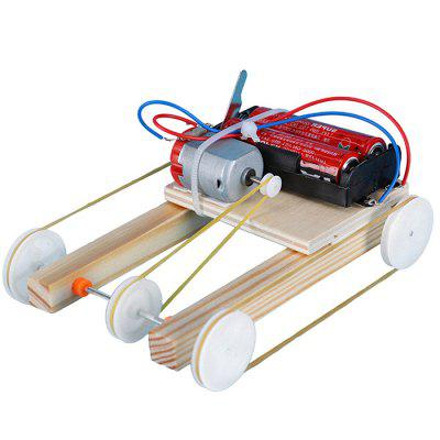 Diy Electric Pulley Four-wheel Drive