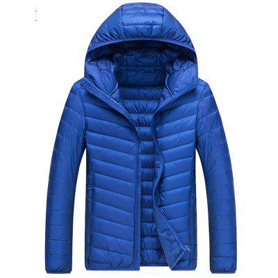 Men's Warm Jacket Fashion Simple Down Jacket