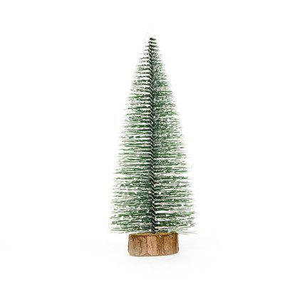 Mini Wooden Christmas Tree Decoration