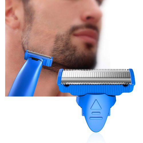 Gearbest Alfawise Rotating Double-edge Blade Rust-proof Shaving Head for RHC5000 Men Electric Razor - BLUE
