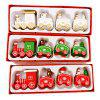 Christmas Train Decorations Wooden Trains Birthday Gifts - WHITE
