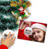 Christmas Decorations Matte Ball - RED