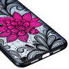 TPU+PC Embossed Mobile Phone Case for Xiaomi Mi8 Young Version - #001