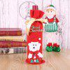 Christmas Decoration Bunch Wine Bottle Cover Bag - MULTI-C