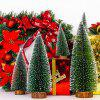 Mini Wooden Christmas Tree Decoration - JUNGLE GREEN