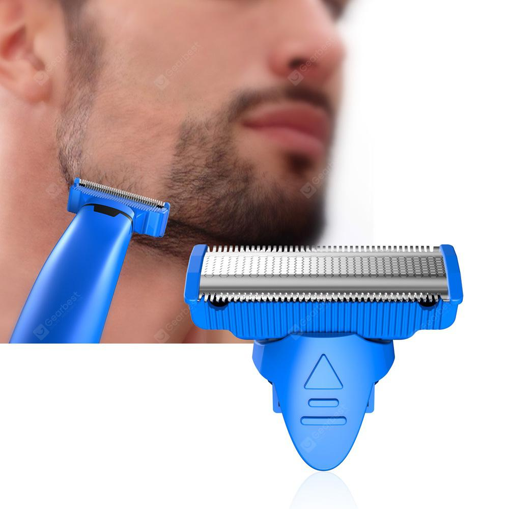 Alfawise Rotating Double-edge Blade Rust-proof Shaving Head for RHC5000 Men Electric Razor - BLUE 29966