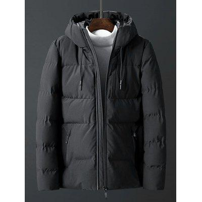 Men Cotton Fashion Down Casaco Parka
