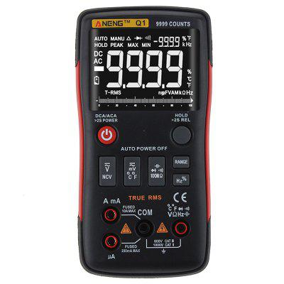 ANENG Q1 True-RMS Digital Multimeter Counting Analog Bar Graph AC / DC Voltage Ammeter
