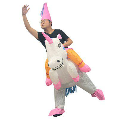 406 Inflatable Dinosaur Unicorn Funny Costume Doll Style Clothing Props Party Costume