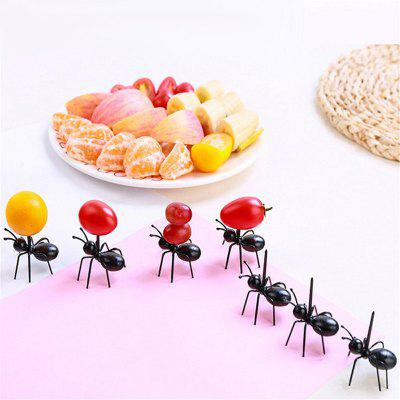 Party Ant Toothpick Diligent Ants Fruit Fork A Box of 12