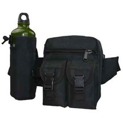 Camouflage Kettle Waist Pack Multifunctional Tactical Waist Bag Tactical Mobile Phone Bag