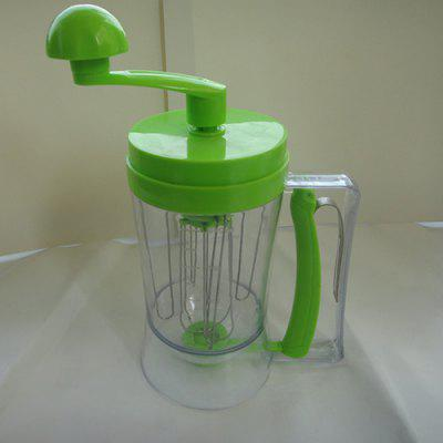 Hand-rotating Cheese Cup Rotary Plastic Batter Dispenser